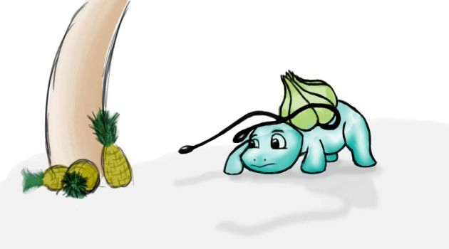 Bulbasaur Pineapple by Rhino0