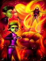 TEEN TITANS: Her Name Was Terra. by Sukesha-Ray
