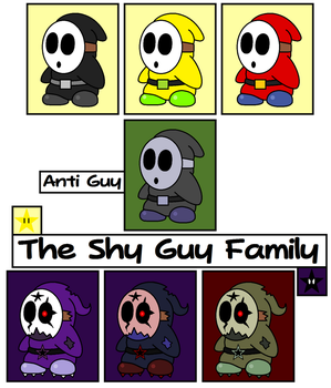 From Shy to Scary -REDUX- by TheSpiderManager