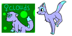 Clouds : Redrawn and Redesigned : Offer to adopt by ThePotato-Queen