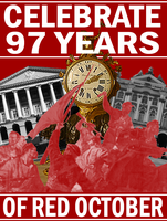 97 Years Of Red October by Party9999999