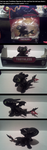 Toothless Figurine I got in the mail e u e by NightmareInspections