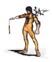 bruce lee god suit 2012 by Madpenciler