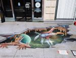 Guardians of the Galaxy 3D Chalk Art by charfade