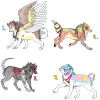Adoptables Batch 1 CLOSED by KaalKaal