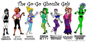 Go-Go Ghoulie Gals-UPDATE by Gonzocartooncompany