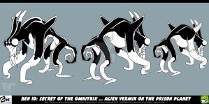 Retro Work: Ben10 Alien Vermin by tnperkins