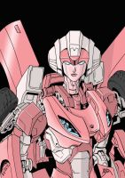 Arcee colors by BDixonarts