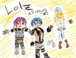 Mike's Crazy Crayon Creations by Axiroth