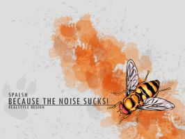 Bee Wallpaper by RealStyle