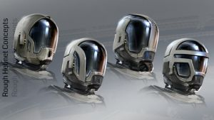 Rough Helmets by MarkButtonDesign