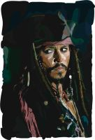 jack sparrow vector by freesky