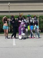 Homestuck at Anime North 14 - The Peixes by Midnight-Dance-Angel