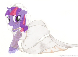 Blushing by TwilightFlopple