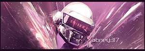 Daft Punk Signature by abney317
