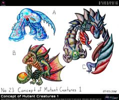 Concept of Mutant Creatures 1 by Unialien