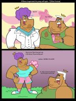 FOP: on The 70's with Obesity (V2) by Cookie-Lovey