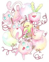 Pink Poke Party by scilk