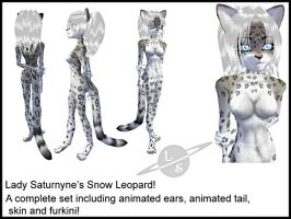IMVU Snow Leopard by lady-cybercat