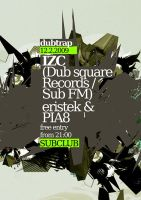 dubtrap poster 12 2 2009 by wladko