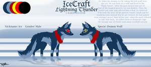 Icecraft reference by Rainwolflover