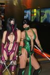 Jade vs Mileena Mortal Kombat 9 by Nemu013