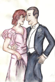 Fred and Ginger by Esther-cant-draw