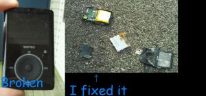 How to 'fix' an MP3 Player by MaiShark