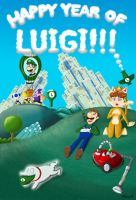 Happy Year of Luigi!!! by Dee-Artist