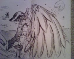 Winged Spartan 'NhacK' by xNh4cK