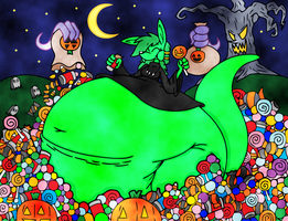 Happy Halloween 2012 by dragovian15