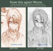 DRAW THIS AGAIN MEME by kurisu593101
