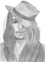 Johnny Depp 02 by Ilojleen