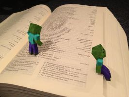 Minecraft Real Book by Sola-King