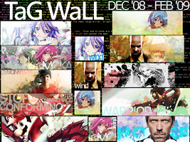 Tag Wall _December-February by Inyro-Gatling