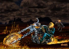 Ghost Rider by Bazza24