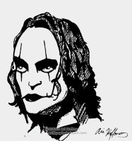 The Crow.... Art Work by arihoff