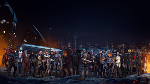 Mass Effect: The Team by SerFatboy