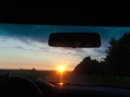 ...And then we drove off into the sunset, lol. by Nemiflora