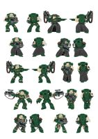 Space Marine Sternguard by Jas-ta