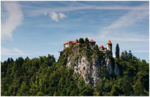 castle of bled by zero-