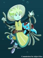 COM : Yellow and Tentacruel SIMPLE COLOR by whiteguardian