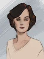Lady Mary Crawley by mirics