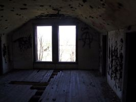 Abandoned Hotz Building 38 by Falln-Stock