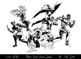 Classic X-Men by 7daywalk