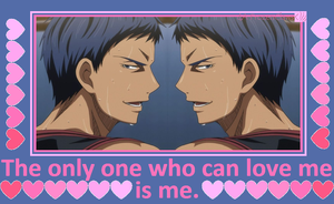 Kuroko no Valentine: Aomine and Aomine by FrozenClaws