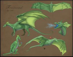 Dark-Frostwind Commission Reference by Teggy
