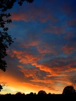 October evening 1 by gwilym
