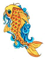 Koi Fish Color by Pick-Your-Poison