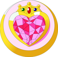 Chibi Moon Brooch Vector by SayurixSama